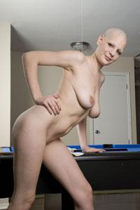Slave orientation naked shave